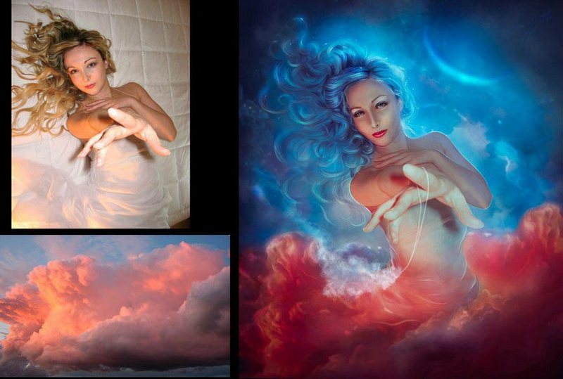 Красивые фотографии, обработанные мастерами фотошопа