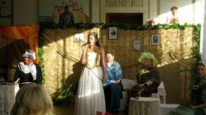 Рябчинский ДК. В литературно-музыкальной гостиной, посвящённой А.К. Толстому.
