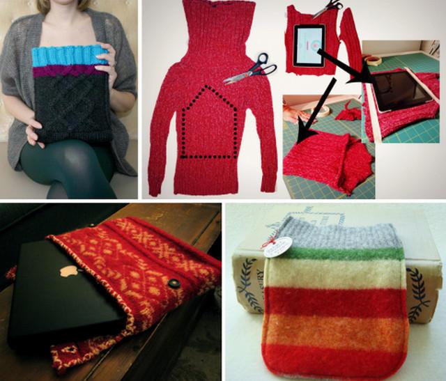Что сделать из свитера