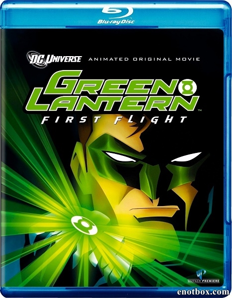 Зеленый Фонарь: Первый полет / Green Lantern: First Flight (2009/BDRip/HDRip)
