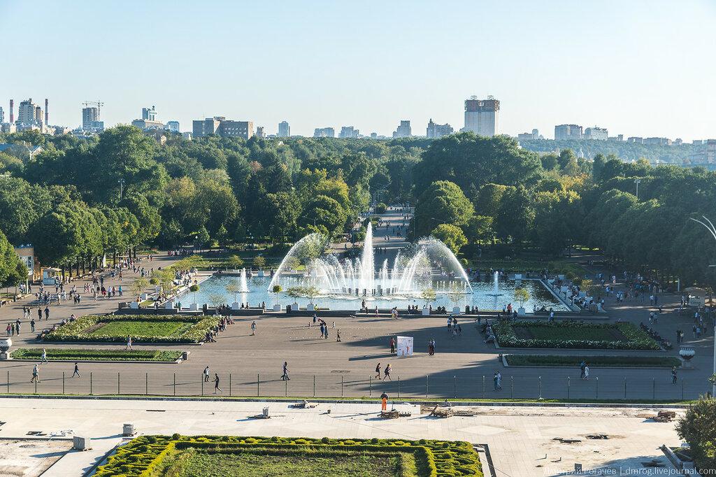 парк горького фотографии москва это