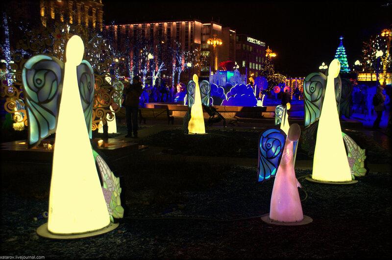 Москва новогодняя. 2015-2016