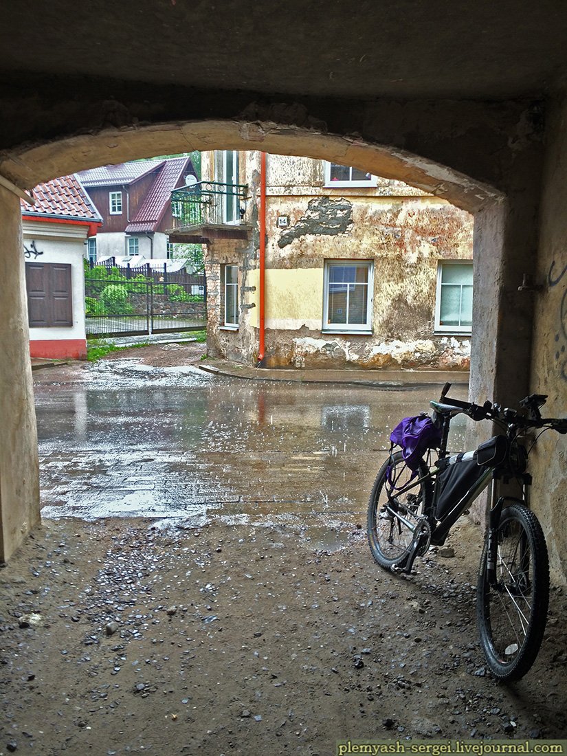 Велопокатушка около Вильнюса