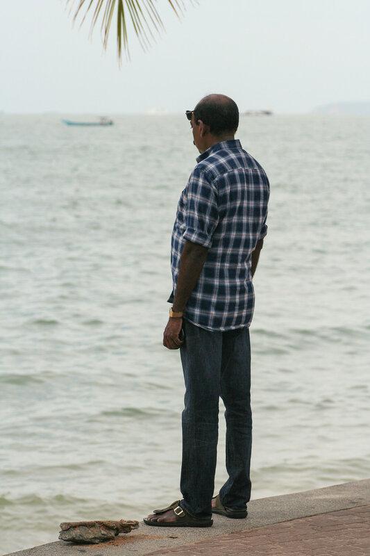Взгляд, устремлённый в море