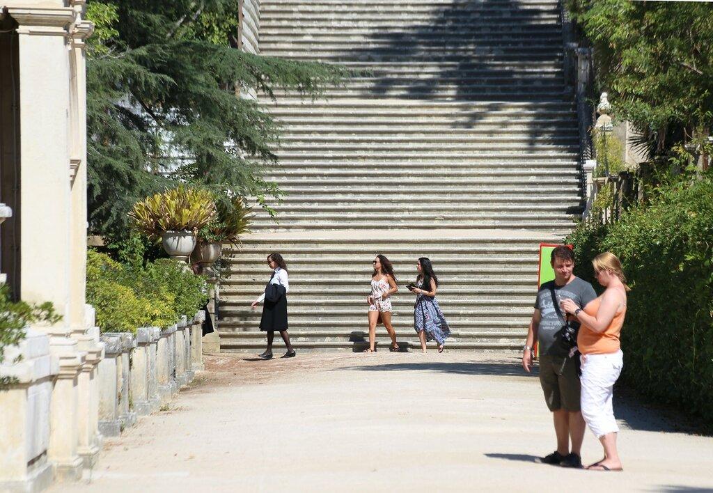 Ботанический сад университета Коимбры (Jardim Botânico da Universidade de Coimbra)
