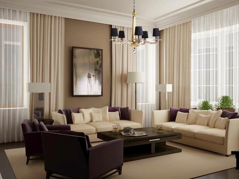 Дизайн интерьера гостиной в светлых оттенках фото 6