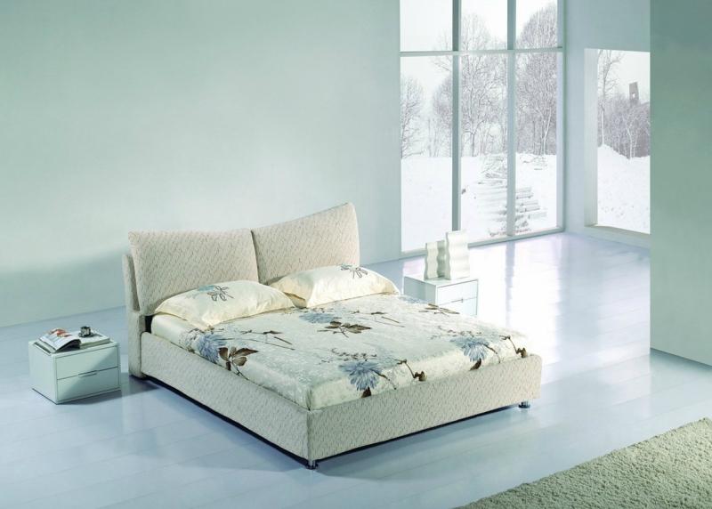 Дизайн интерьера спальни в светлых оттенках фото 17
