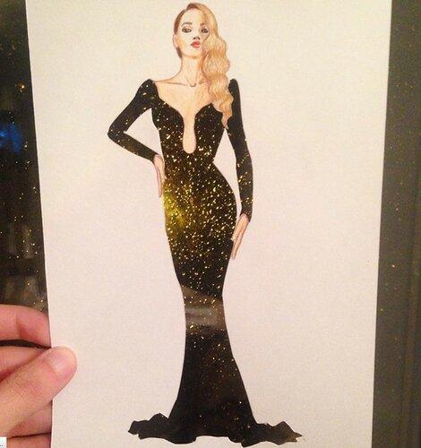 Невероятные эскизы платьев от Эдгара Артиса