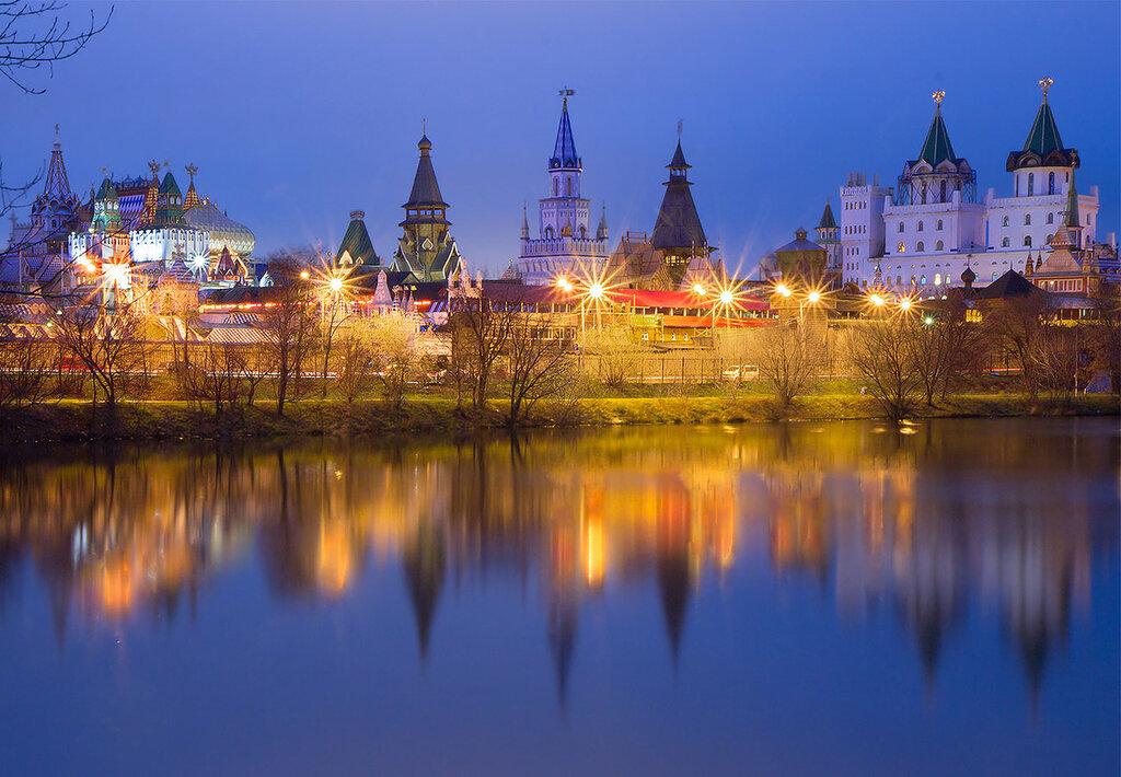 Москва. Измайловский кремль.