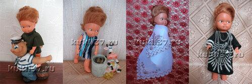 одежда для куклы ростом  19