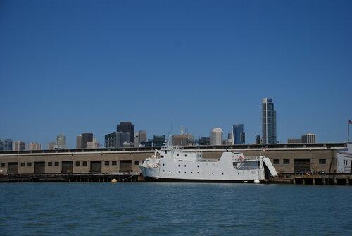 В порту Сан-Франциско
