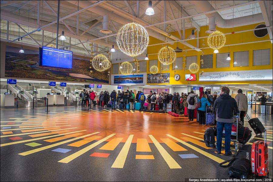Аэропорт Ивало / Ivalo airport