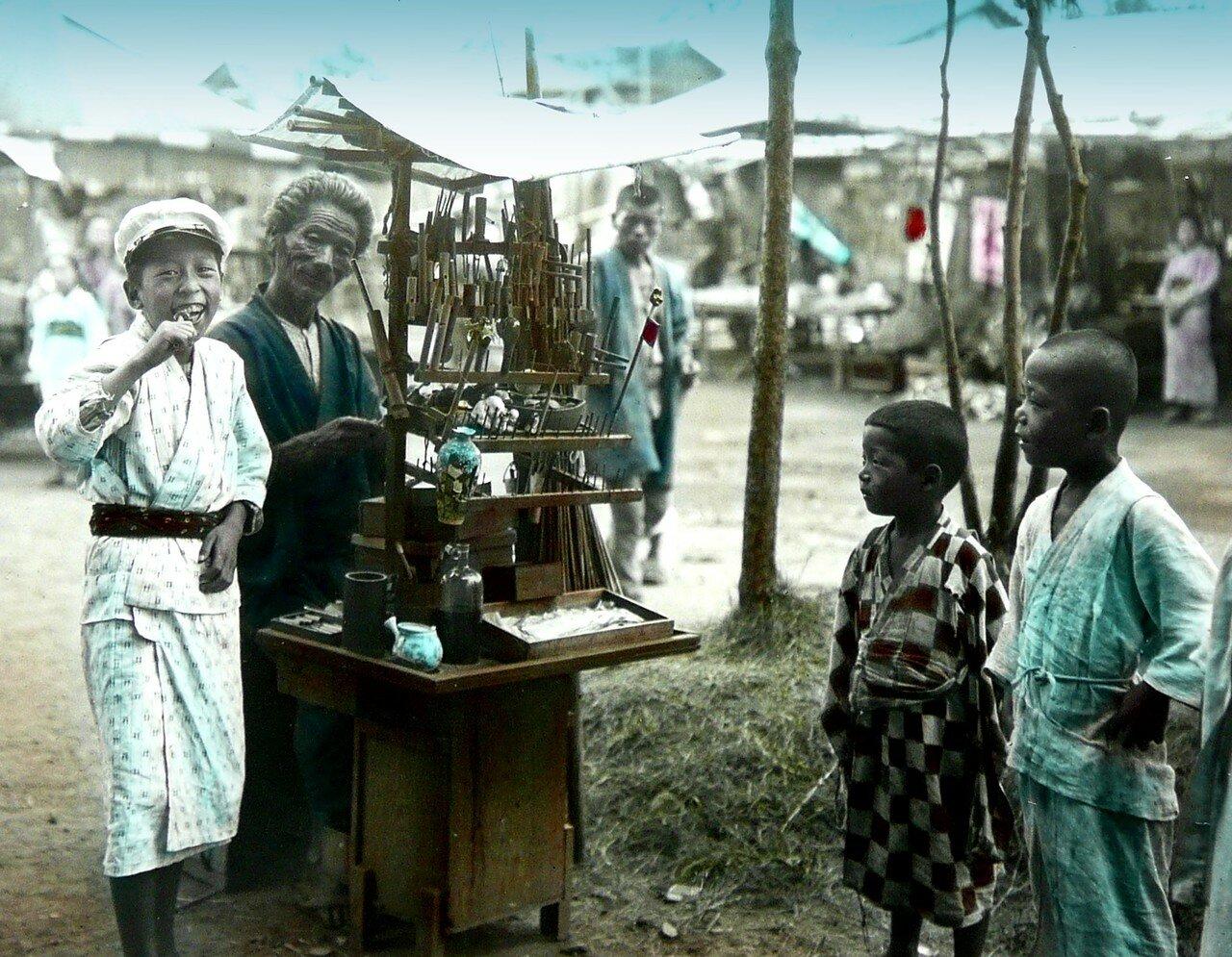 Торговец сладостями. 1900-1910