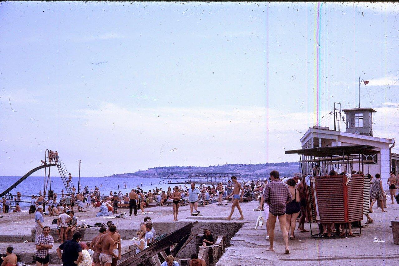 Одесса. Пляж