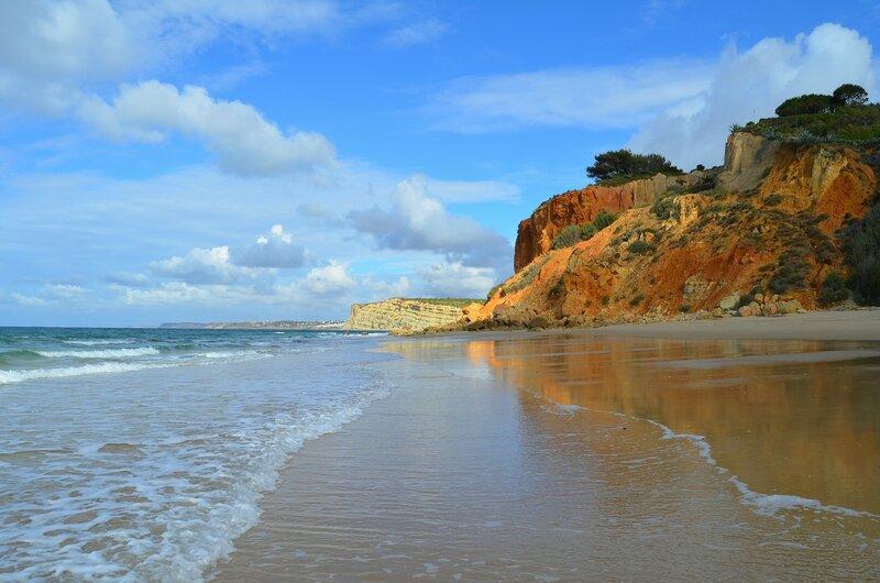Пляж в Алгарве
