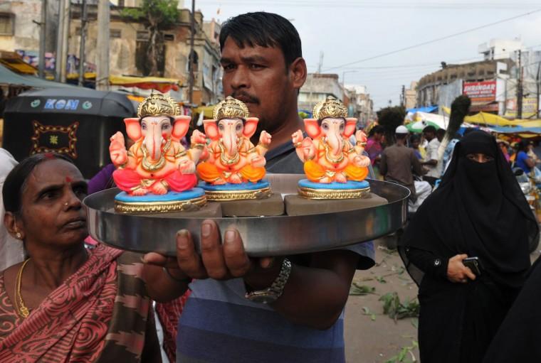 В Индии празднуют День рождения Ганеша 0 1454b8 8b96376 orig