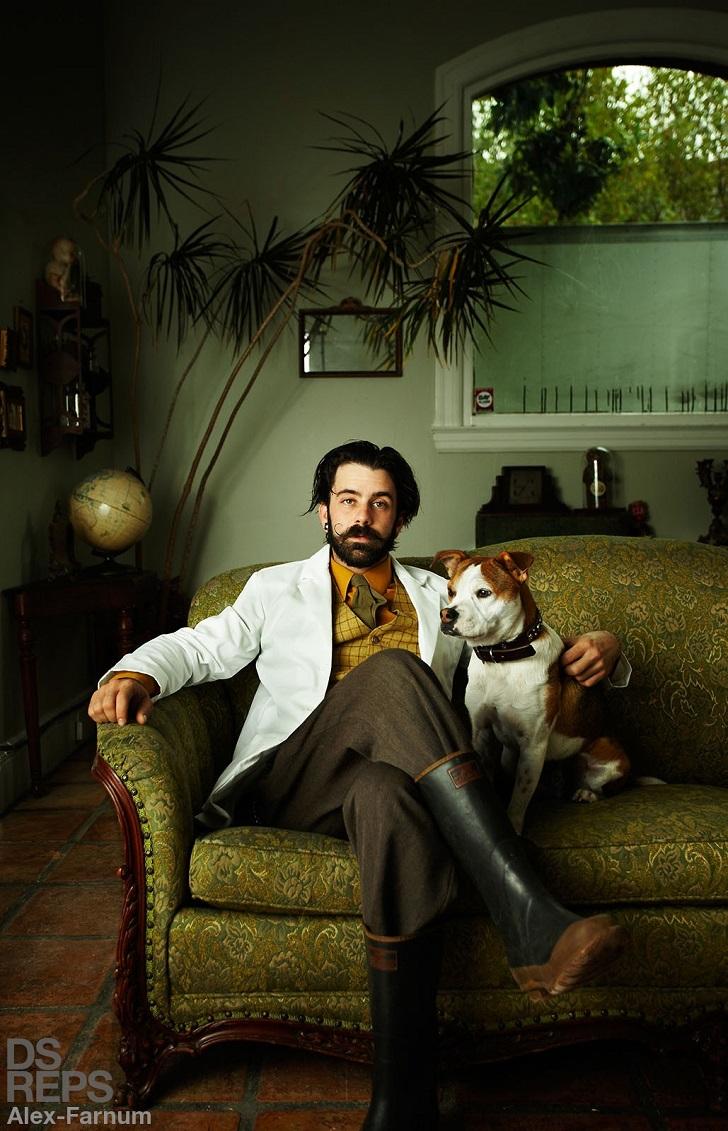 Истории в портретах от Алекса Фарнума