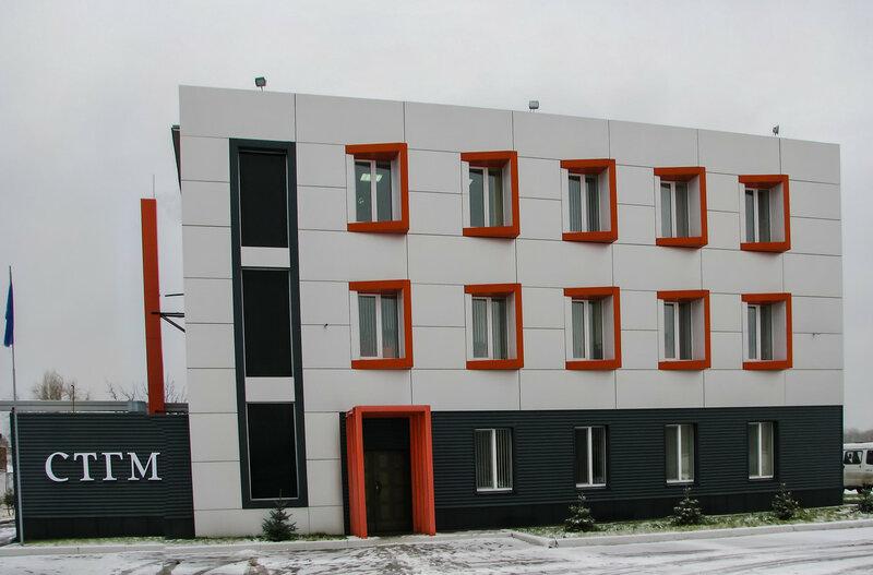 Здание предприятие