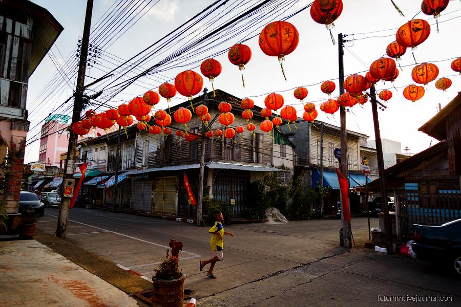 Таиланд. Люди на улицах.