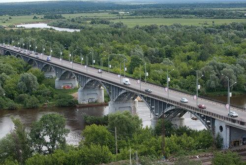 Мост через реку Клязьма