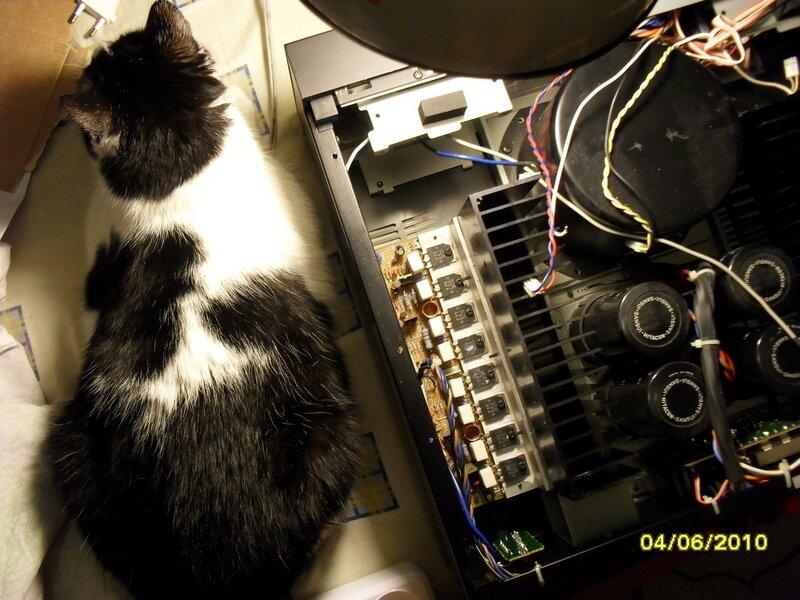 Выходные транзисторы усилителя 1
