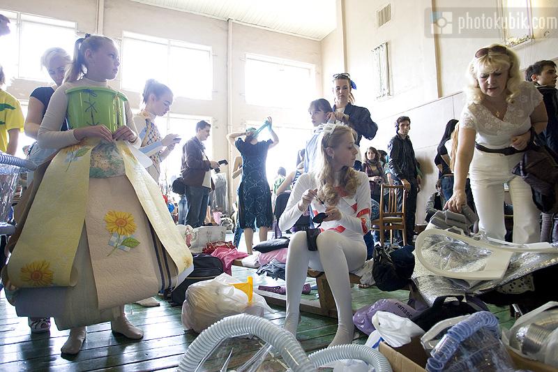 фоторепортаж репортаж модели мода дизайнеры fashion  Печерские каштаны 2010. Финал. Бэкстейдж
