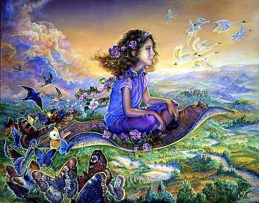 Волшебный сон, сказка, Жозефина Уолл