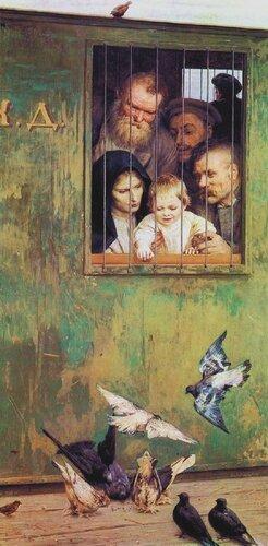 Н.А. Ярошенко. Всюду жизнь. 1888