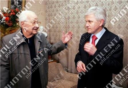 Ростислав Бабийчук и Владимир Литвин, 2006. Фото Александра Клименко