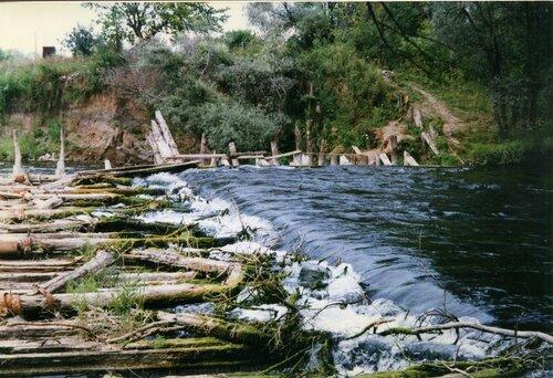 старая плотина