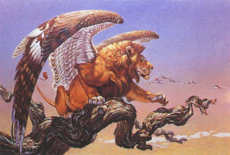Лев с крыльями орла