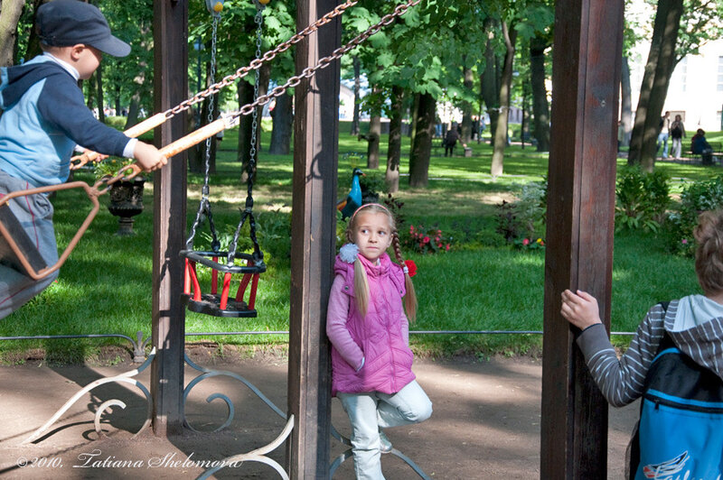 В Михайловском саду