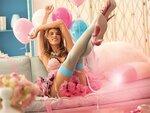 Alessandra Ambrosio / Алессандра Амбросио и белье Victoria's Secret