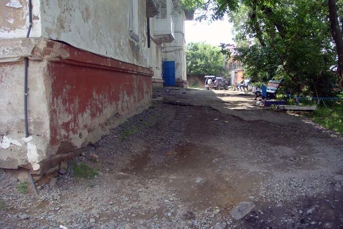 Владивосток,улица Приморская
