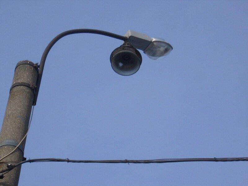 староновый фонарь