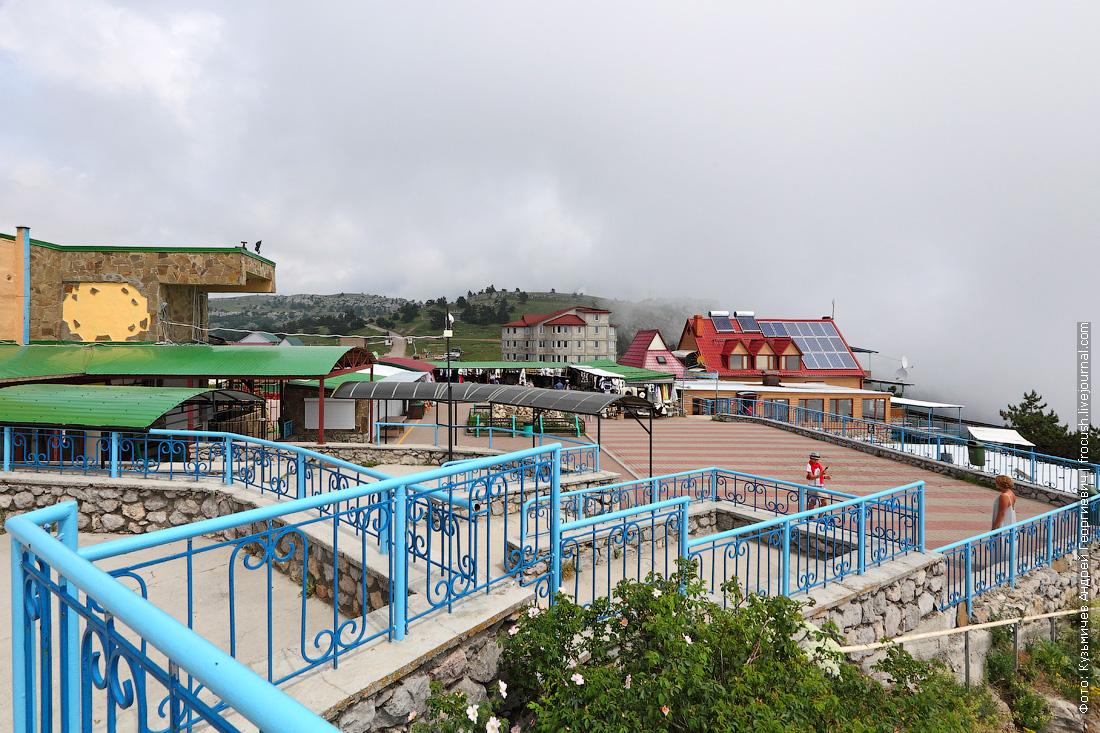 татарский базар на горе Ай-Петри