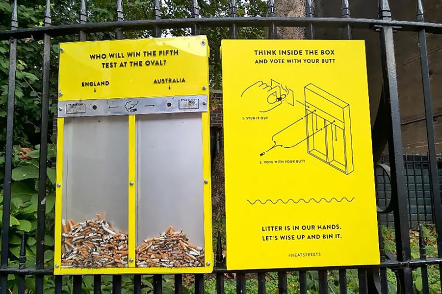 Как заставить людей перестать мусорить?