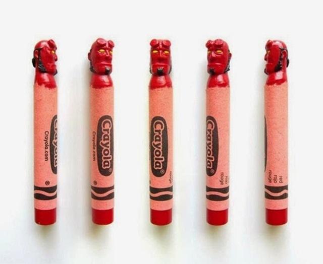 Известные персонажи, вырезанные на кончике карандашей 0 12d101 336256b9 orig