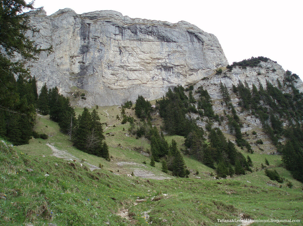 Старые фото Швейцарии