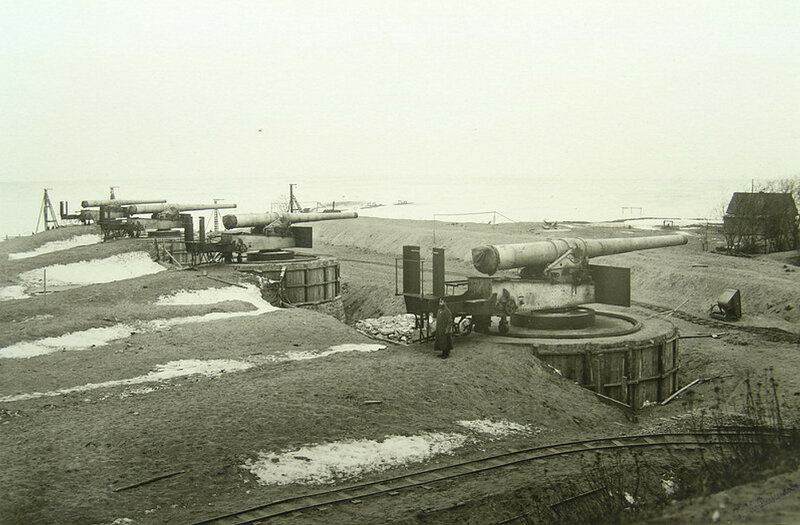Форт «Риф», февраль-март 1910 года.
