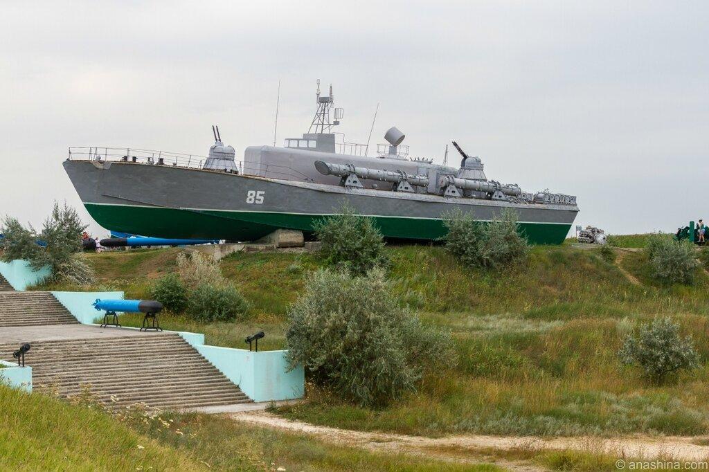 Торпедный катер Т-8, Военная горка, Темрюк