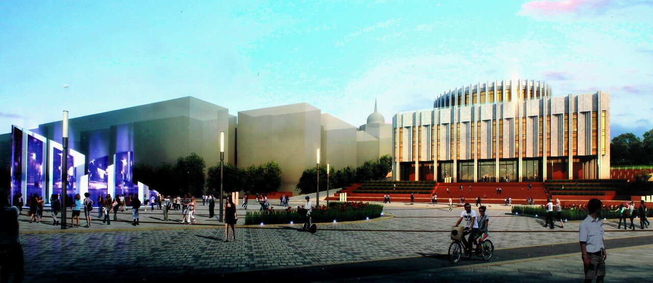 Проект реконструкции Европейской площади