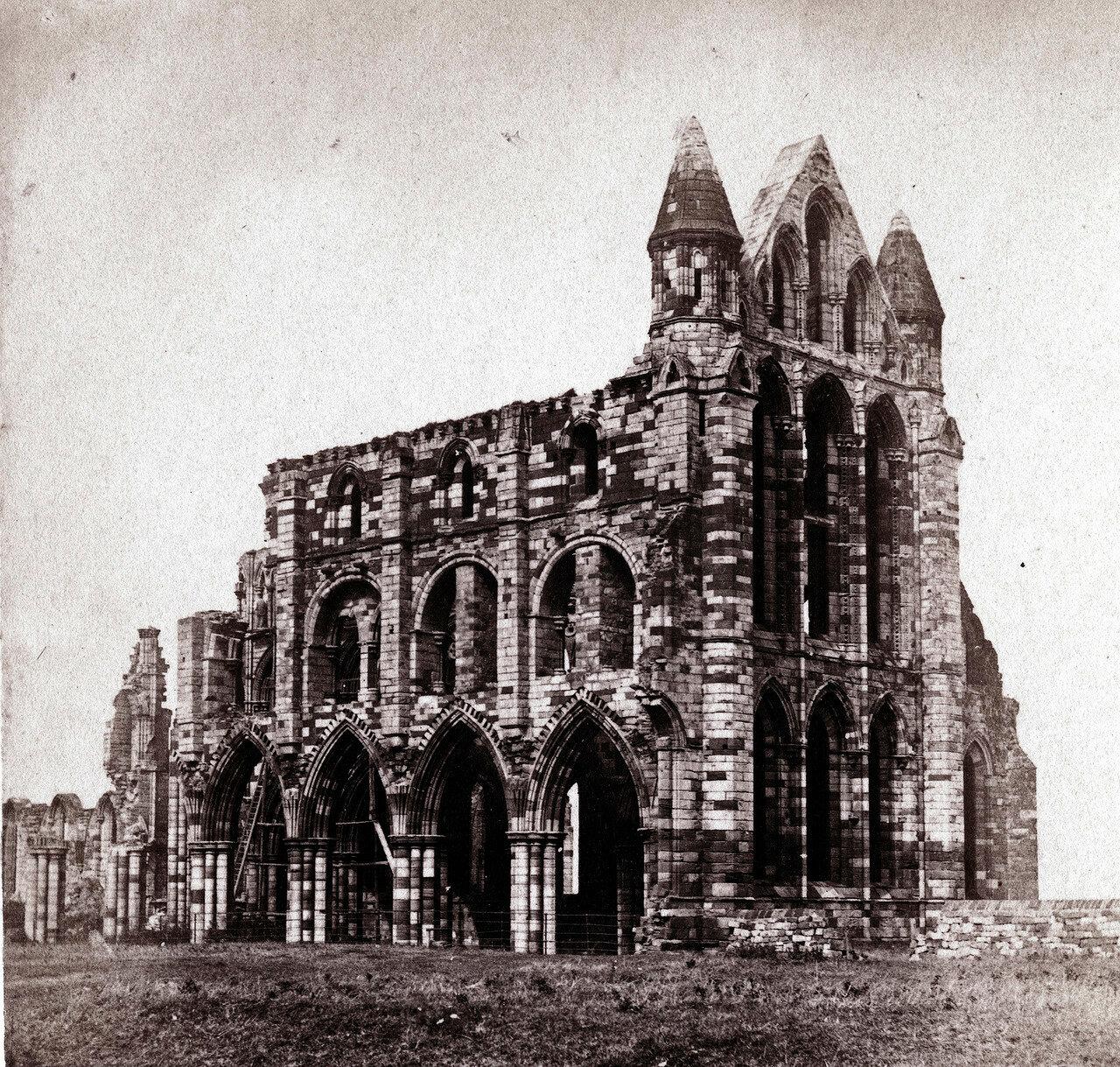 Аббатство Уитби. Великобритания, 1864