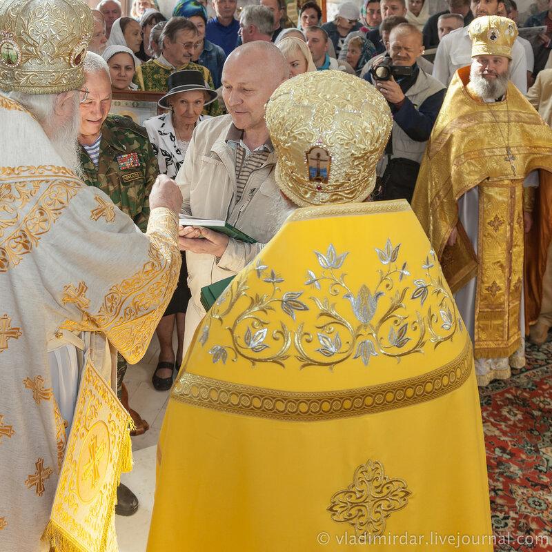 Благотворители в деле возрождения Храма Святителя Василия Великого в селе Кистыш