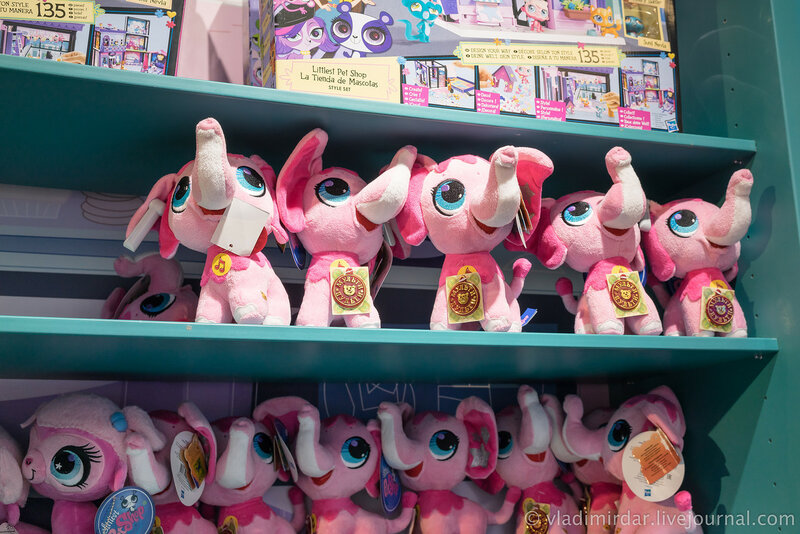 Розовые слонята