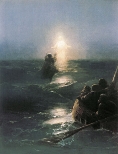 Айвазовский И. К. Хождение по водам. 1890 год