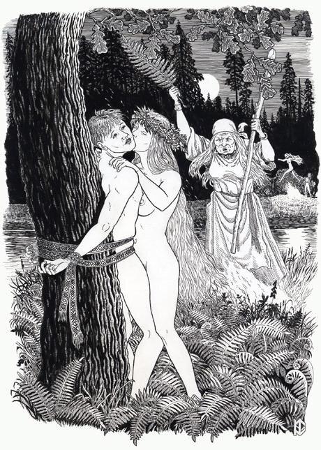 такой фото голых баб в древней руси трех женщин, которых