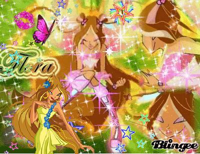 Игра Одень фею принцессу Стеллу и арты винкс