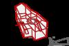 Проект жилого дома в поселке Благовещенка, Пятницкое шоссе 12 км. проекция абриса объёмной коробки жилого дома на лист бумаги. коттедж современный стиль в интерьере компоновка помещения 3d проект Максим Аммосов, Maxim Аmmosov