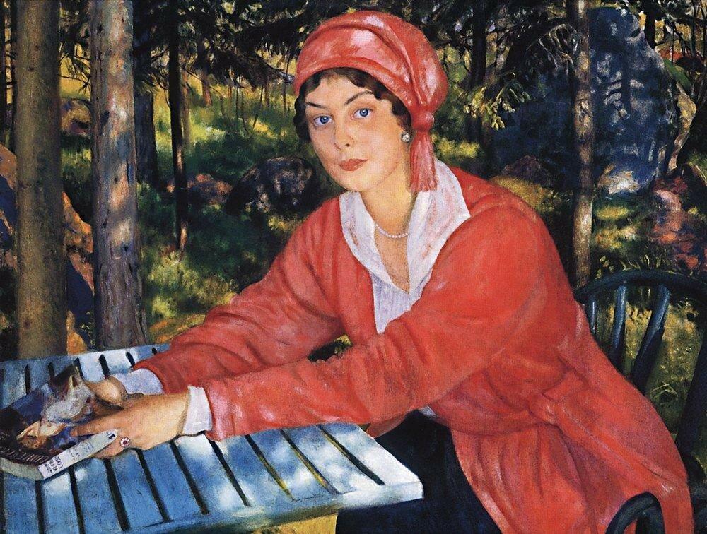 Портрет графини Грабовской. 1917.jpg